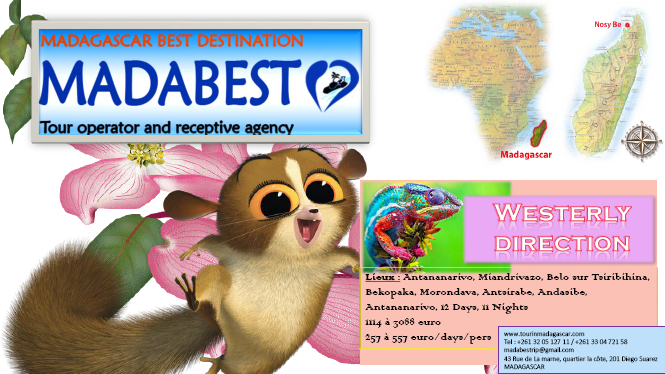 west direction tour in madagascar